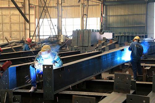 河南林州钢结构建筑施工