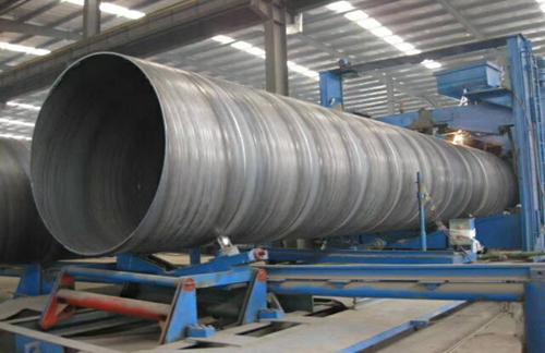 广告牌立柱用大口径螺旋钢管
