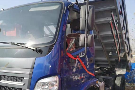 泰州二手大黄牌4米车厢自卸车供应  首付3万即可上路