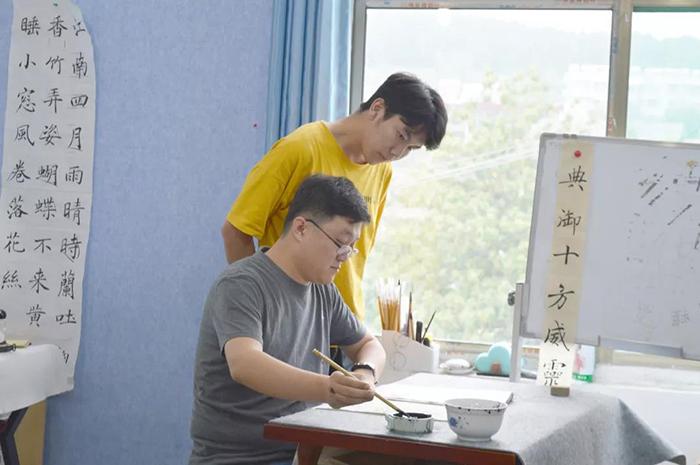 济南高考书法培训学校