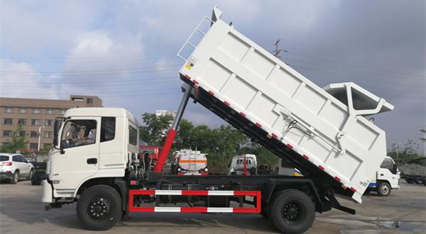 凯马4吨压缩对接式垃圾车 电动小型对接式垃圾车价格