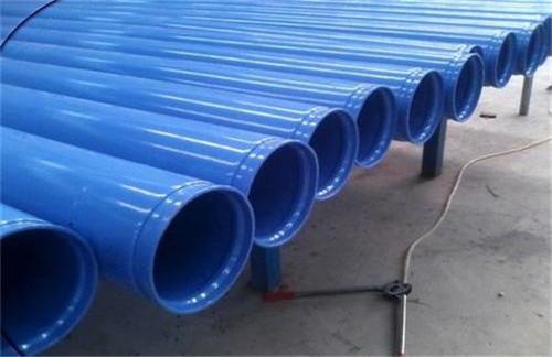 江苏给水用涂塑复合钢管制造工艺简介