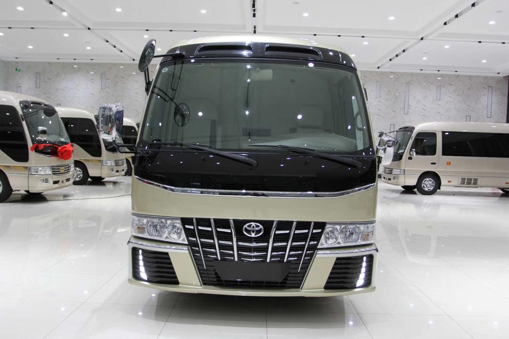 珠海丰田柯斯达七座商务车改装店