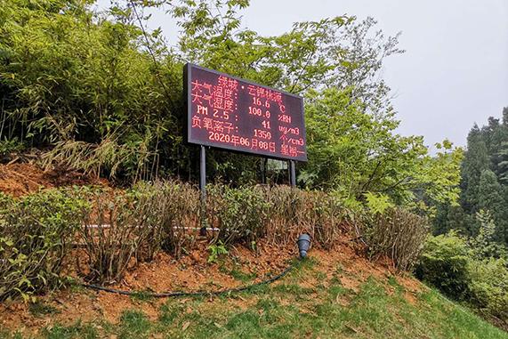 甘肃公园环境负氧离子浓度检测系
