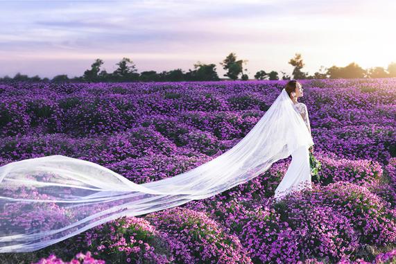 【长沙 婚纱照】蕾蕾纯色婚纱摄影馆